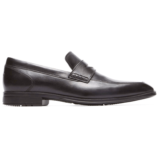 Fairwood Penny Slip On in Black