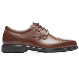 Charles Road Cap Toe Oxford in Grey