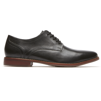 Style Purpose Plain Toe, BLACK 2 LE