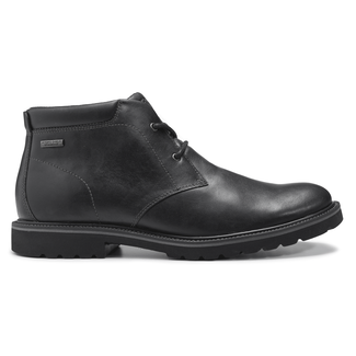 Ledge Hill Waterproof Chukka, Men's Black Boots