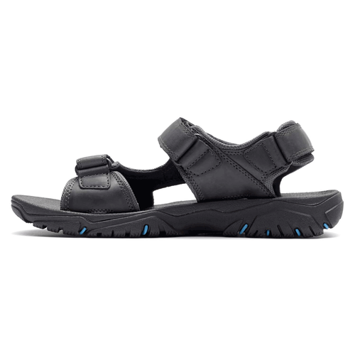Coastal Creek 3 Strap Men's Active Shoes in Black