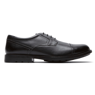 Key Measures Cap Toe in Black