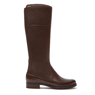 Tristina Stitch Tall Boot in Brown