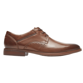 Style Purpose 2 Plain Toe, BROWN