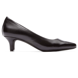 Kirsie Plain Pump in Black