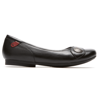 Emma Ballet Cobb Hill by Rockport in Black