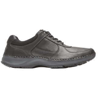 RocSports Lite Five Sneaker, BLACK LEATHER
