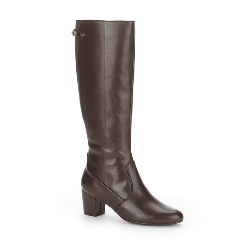 Phaedra Tall Boot, Women's Dark Brown Boots