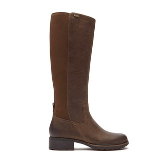 First St. Gore Tall Boot in Brown