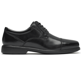 Charles Road Cap Toe Oxford, BLACK BOX