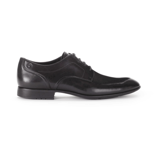 Dialed In Plain Toe - Men's Black Dress Shoes