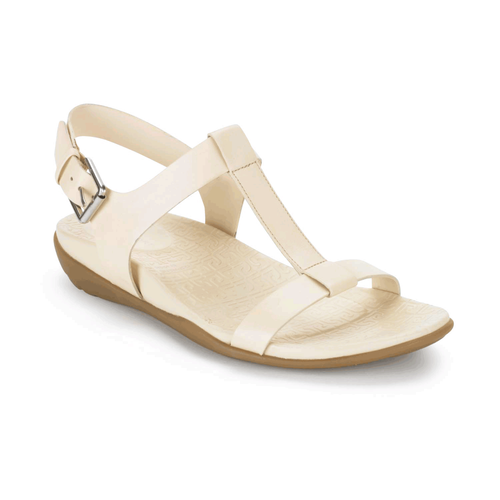 truJoris T Strap Sling Women's Sandals in White