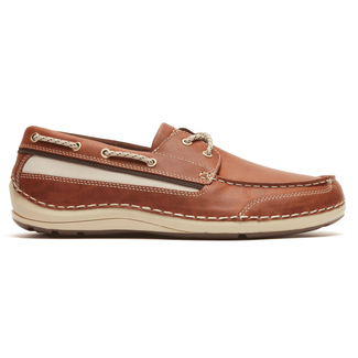 Shoal Lake 2 Eye - Men's Tan Boat Shoes