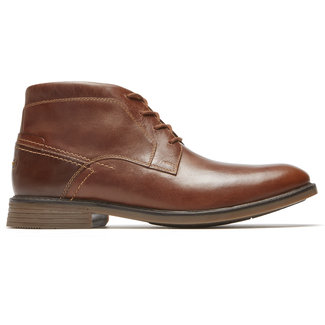 Classic Break Low Boot Chukka, COGNAC