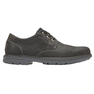 Tough Bucks Plain Toe Oxford 2, BLACK 2