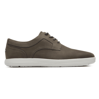 Thurston Plain Toe  Comfortable Men's Shoes in Grey