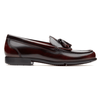 Classic Loafer Tassle - Men's Dark Brown Loafers
