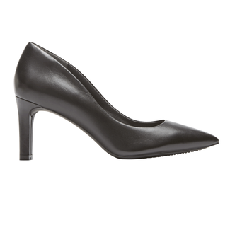 Total Motion Valerie Luxe Pump, BLACK LEATHER