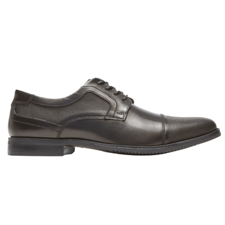 Style Purpose Cap Toe Blucher, BLACK