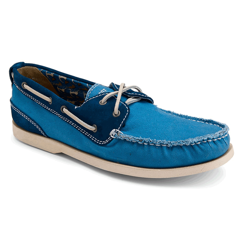 Coastal Springs 2 Eye Boat Men's Boat Shoes in Navy