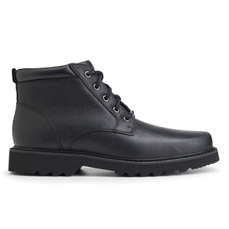 Northfield Plain Toe Boot in Black