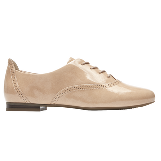 Total Motion Tavia Lace Up, TAUPE PATENT