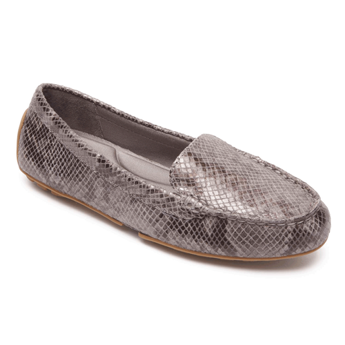 Rockport Women's Python Cambridge Blvd Comfort Driving Moc