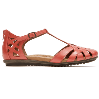 Ireland Fisherman Sandal Cobb Hill by Rockport in Pink