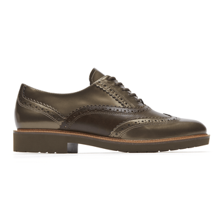 Total Motion Abelle Wingtip, STONE