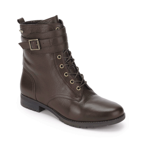 Tristina Lace Up Boot Women's Boots in Brown