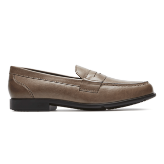 Barnaby Lane Penny Loafer Comfortable Men's Shoes in Brown