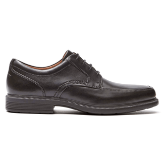 Rockport Men's Black DresSports Luxe Apron Toe Oxford