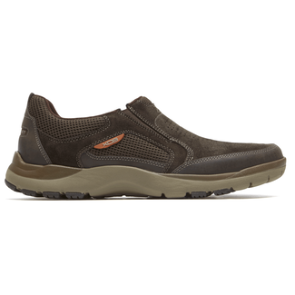Kingston Slip-On Comfortable Men's Shoes in Brown
