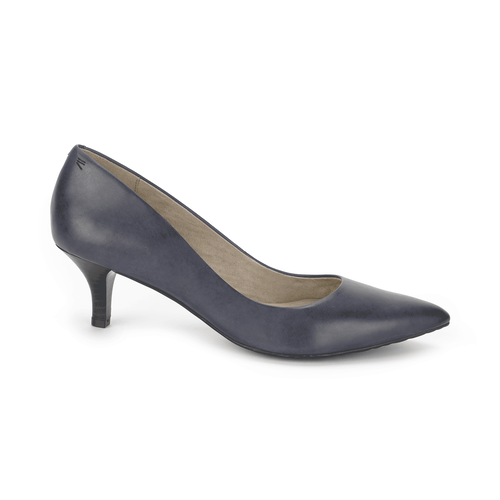 Hecia Pump Women's Heels in Navy