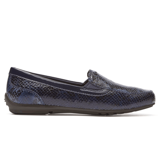Total Motion Flat Moc in Navy