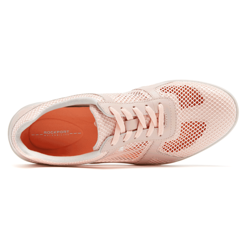 truWALKzero II Mesh Lace Up Women's Walking Shoes in Pink