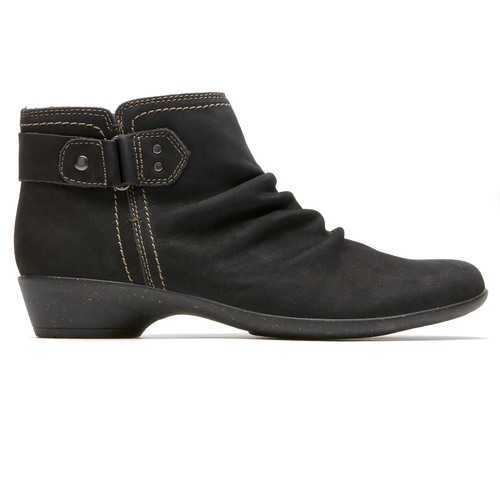 Nicole Bootie Cobb Hill by Rockport in Black