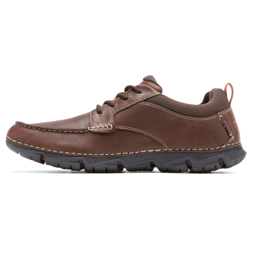 RocSports Lite 2 Moc Toe - Men's Dark Brown Casual Shoes