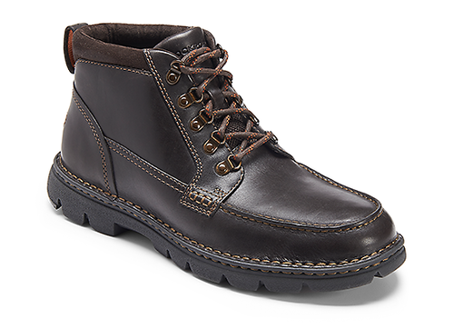 RocSports Lite Rugged Moc Boot Men's Boots in Brown
