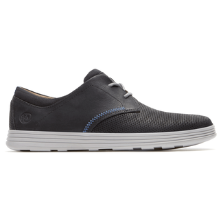 Colchester Oxford Extended Size Men's Shoes in Navy