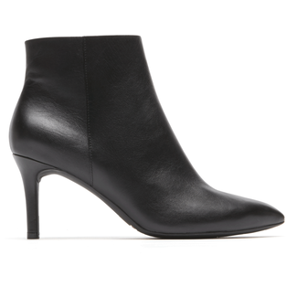 Total Motion Pointed Toe Bootie, BLACK
