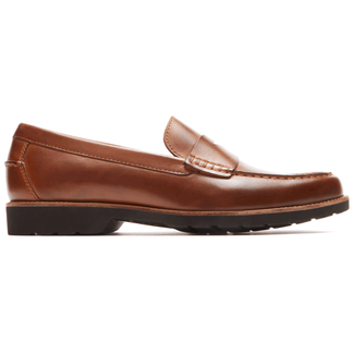 Classic Move Penny Loafer in Brown