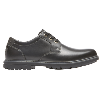 Tough Bucks Plain Toe Oxford 2, BLACK