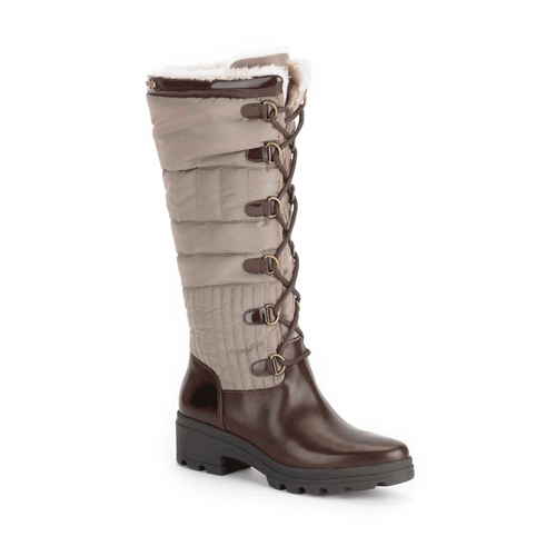 Lorraine II Lite Tall Laceup Boot, Women's Dark Brown Boots