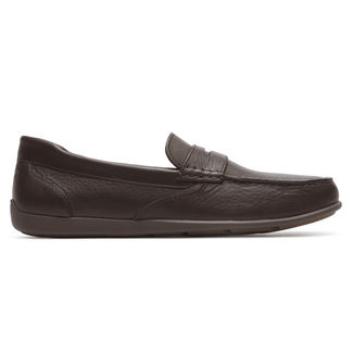 Bennett Lane IIII Penny Loafer Comfortable Men's Shoes in Brown