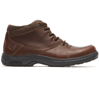 Addison Mid Cut Boot in Brown