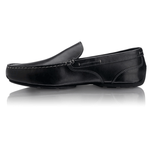 Glenway Men's Slip On Shoes in Black