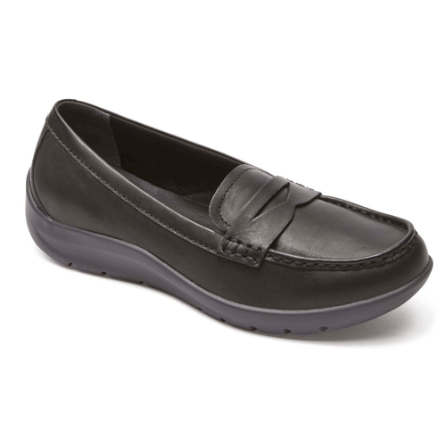 Moreza Penny Loafer in Black