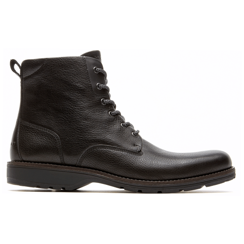 Total Motion Street Plain Toe Boot Men's Boots in Black