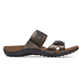 Ridge Gore Band Sandal in Grey